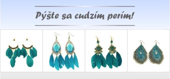 bižutéria, náušnice, náhrdelníky, náramok, bižutéria online