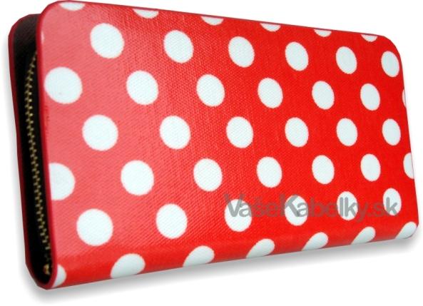 Dámska peňaženka lakovaná bodková Style c38c943871d